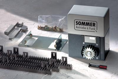 Автоматика для откатных ворот SOMMER SM40T