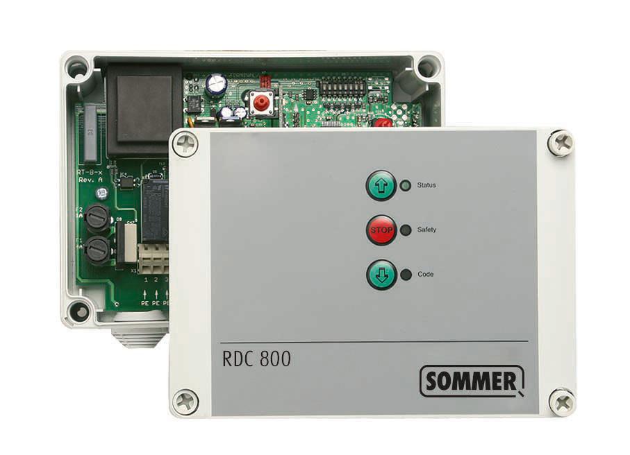 Акция на блок SOMMER RDC800