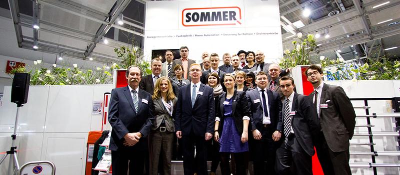 SOMMER приглашает на BAU и R+T